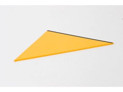 Rectangle Box: Large Scalene Triangle - Yellow _