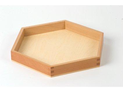 Large Hexagon Box: Empty