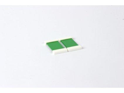Barevná destička: zelená (2)