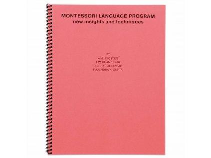 BOOK MONTESSORI LANGUAGE PROGRAM