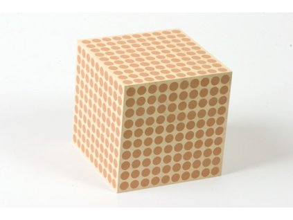 Wooden Cube Of 1000: (1)
