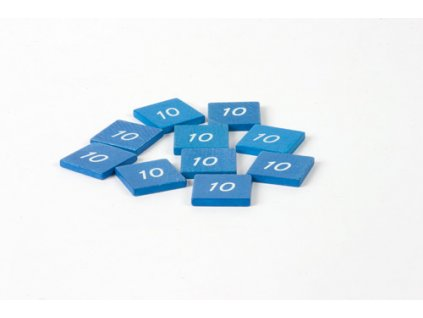 Stamp Printed With 10: (10)