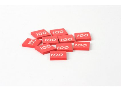 Stamp Printed With 100: (10)