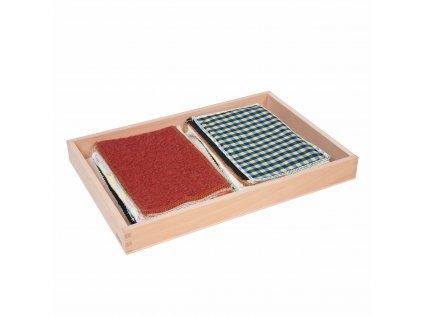 Krabice s látkami