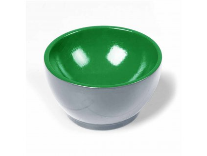 Wooden Cup: Gray/Green