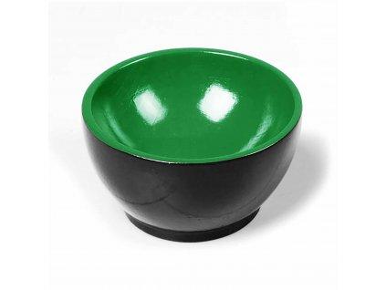 Dřevěný kalíšek: černo-zelený