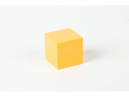 Power Of Three: Yellow Cube - 3 x 3 x 3