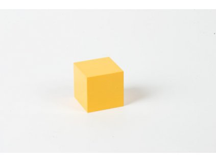 Power Of Two: Yellow Cube - 4 x 4 x 4