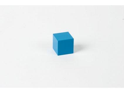Binomial/Trinomial Cube: Blue Cube - 3 x 3 x 3
