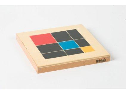 Trinomial Cube Box: Lid