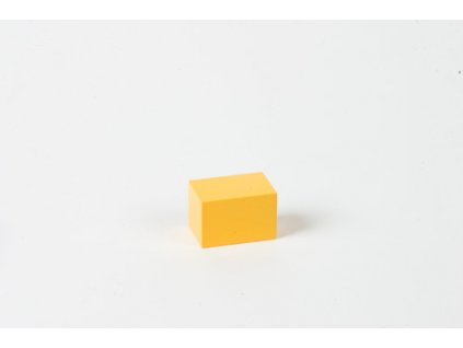 Arithmetic Trinomial Cube: Yellow Prism - 3 x 2 x 2