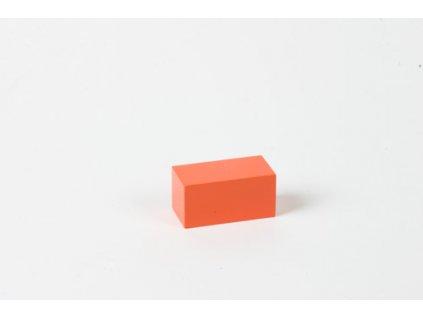 Arithmetic Trinomial Cube: Orange Prism - 4 x 2 x 2