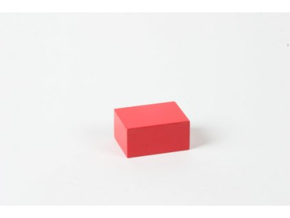 Arithmetic Trinomial Cube: Red Prism - 4 x 3 x 2