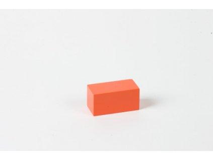 Arithmetic Trinomial Cube: Orange Prism - 2 x 3 x 3