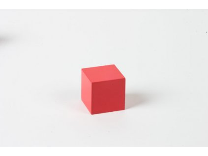 Arithmetic Trinomial Cube: Red Cube - 3 x 3 x 3