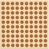 Vzorkovaný papír na polepení dřevěné stovky / tisíce