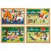 Children's activities puzzles - complete set of 4