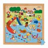 Recreation puzzles - swimming pool