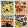 Street Action puzzles - complete set of 4