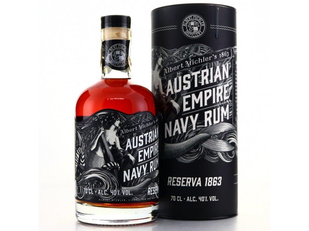 2134 austrian empire navy rum reserva 1863
