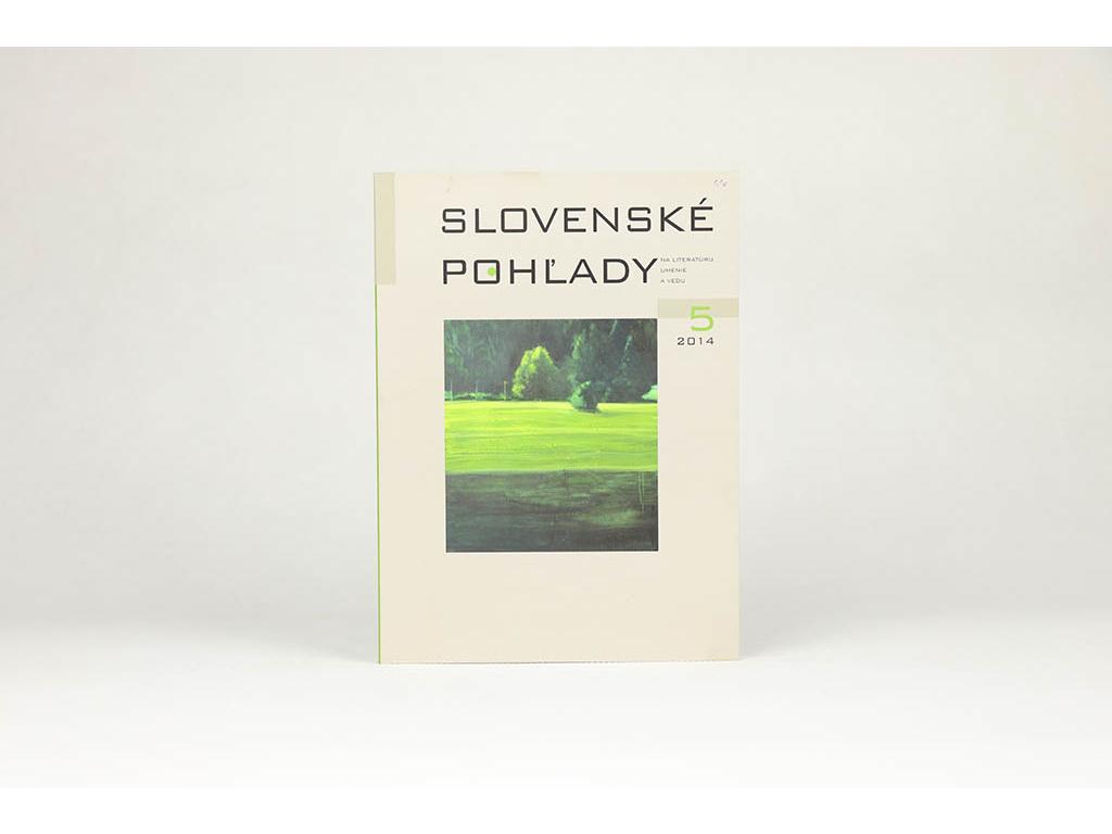 Slovenské pohľady 5 (2014)