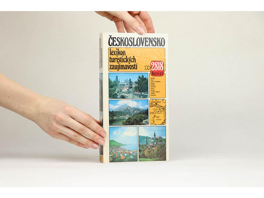 Vladimír Adamec a kol. - Československo: lexikon turistických zaujímavostí (1986)