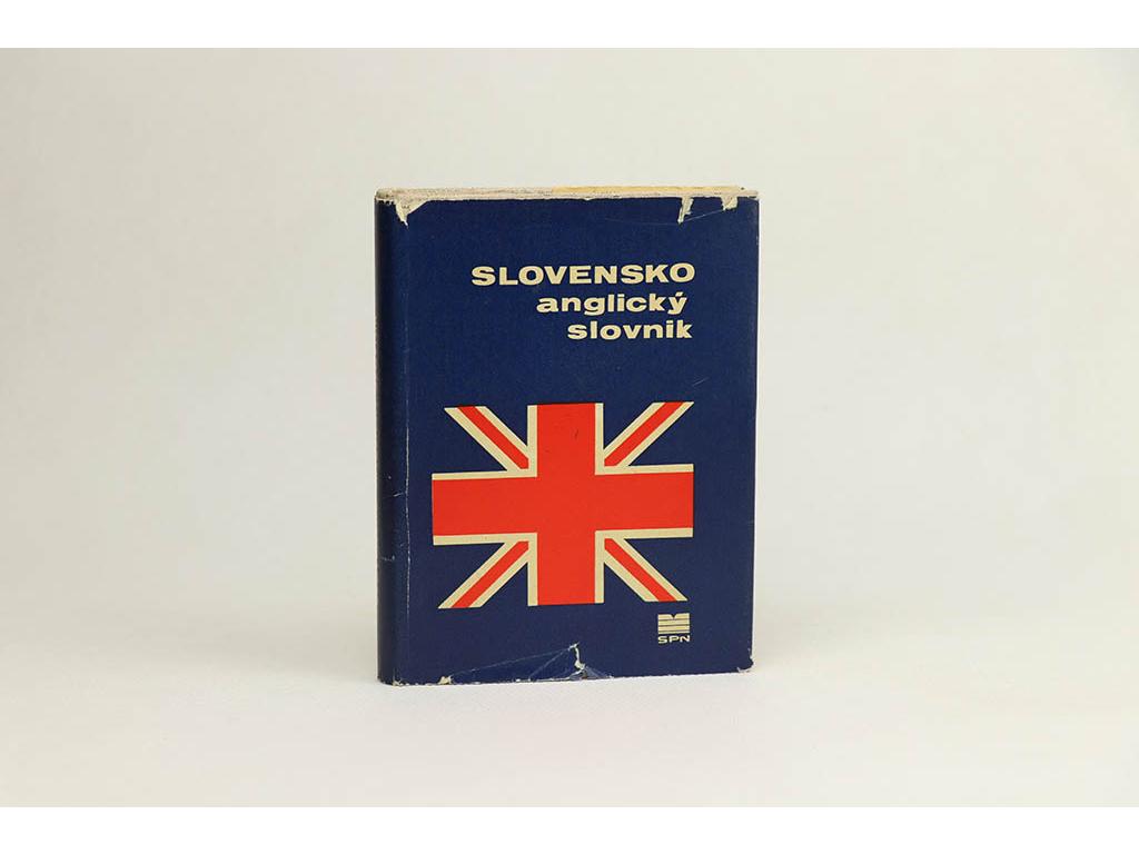 J. Vilikovská, P. Vilikovský - Slovensko-anglický slovník (1971)