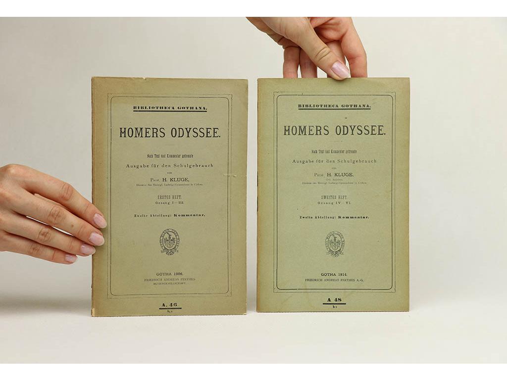 Homers Odyssee: Ausgabe für den Schulgebrauch I., II. (1906, 1914)