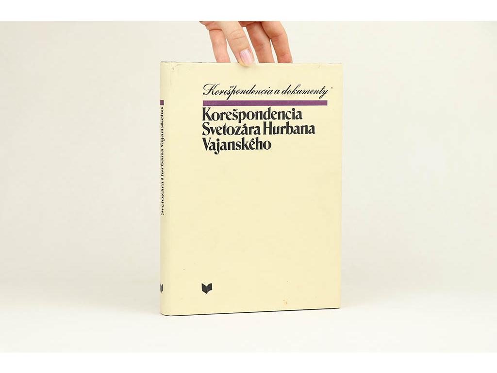 Korešpondencia Svetozára Hurbana Vajanského (1978)