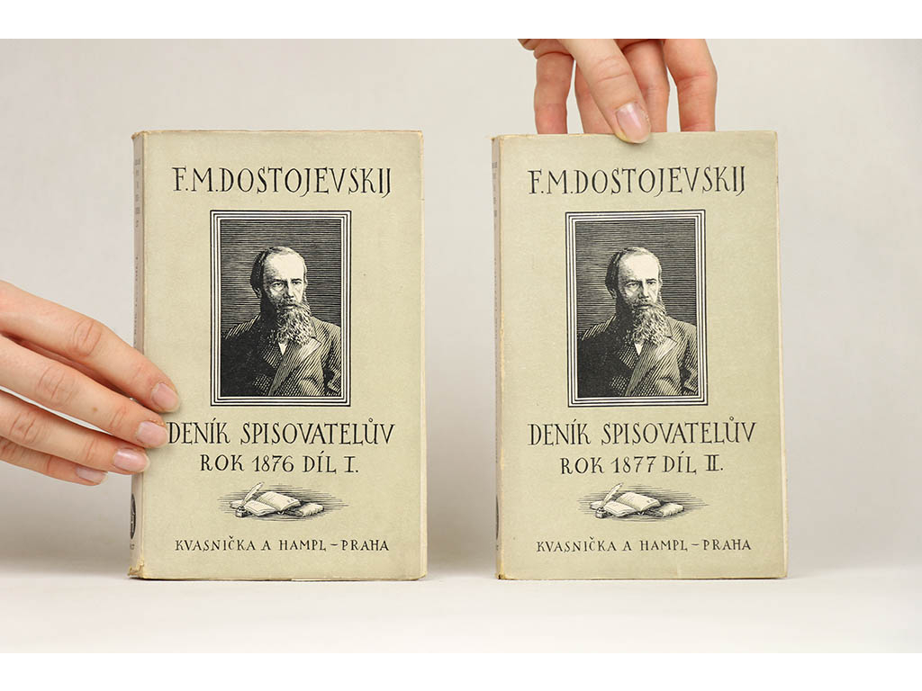 F. M. Dostojevskij - Deník spisovatelův I-II (1927)