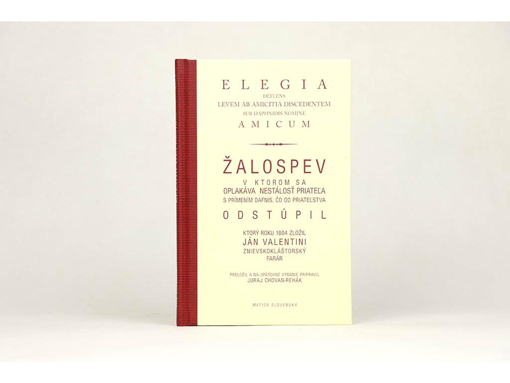 Ján Valentini - Žalospev / Elegia (2007)