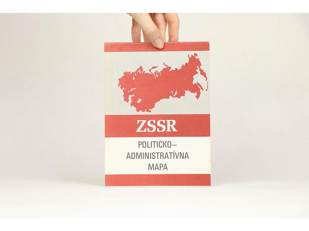 ZSSR: Politicko-administratívna mapa (1981)