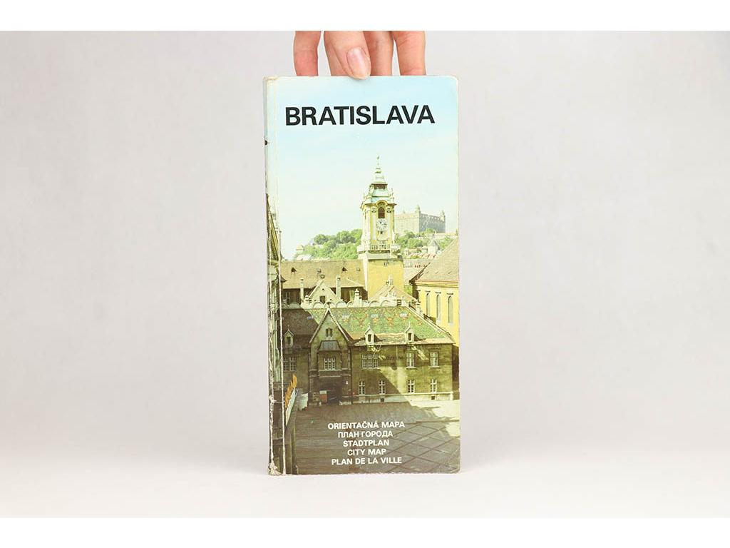 Bratislava: orientačná mapa (1986)