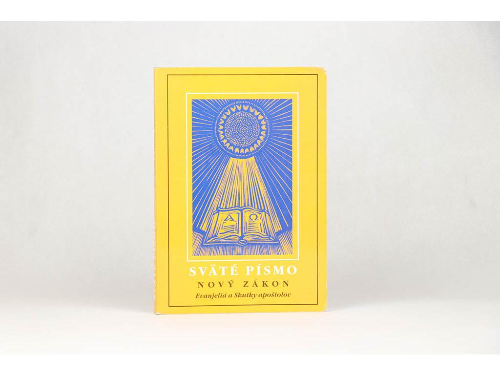 Sväté písmo - Nový zákon: Evanjeliá a Skutky apoštolov (2000)