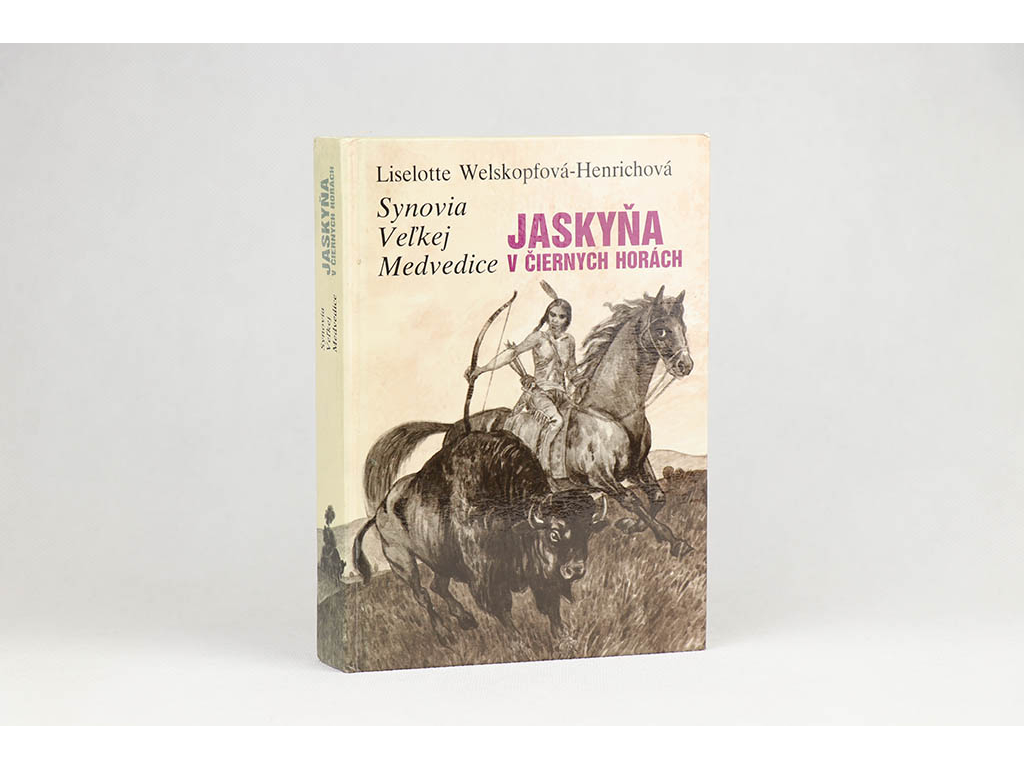 Liselotte Welskopfová-Henrichová - Synovia veľkej medvedice: Jaskyňa v čiernych horách (1988)