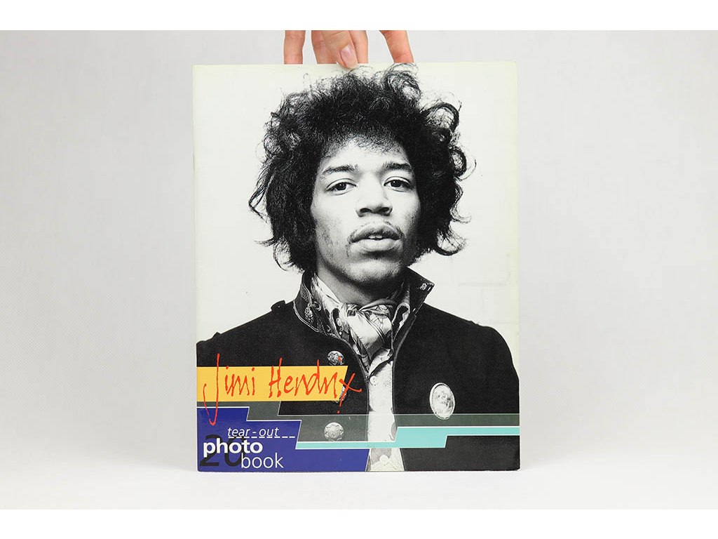 Jimi Hendrix: A tear-out photo book (1994)