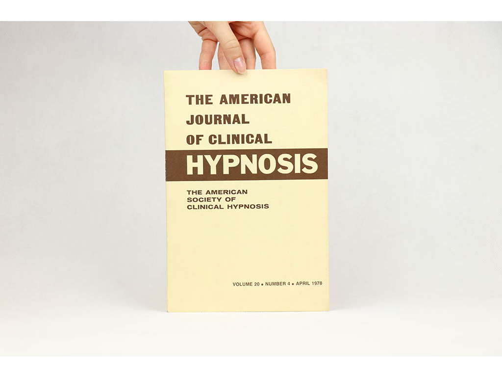 The American Journal of Clinical Hypnosis, April 1978