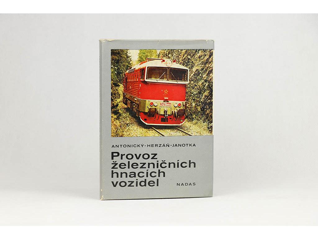 Provoz železničních hnacích vozidel (1984)
