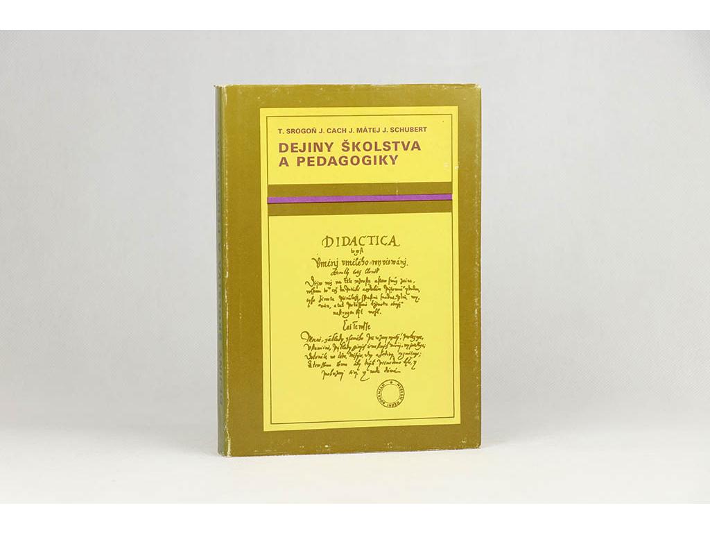 Dejiny školstva a pedagogiky (1986)