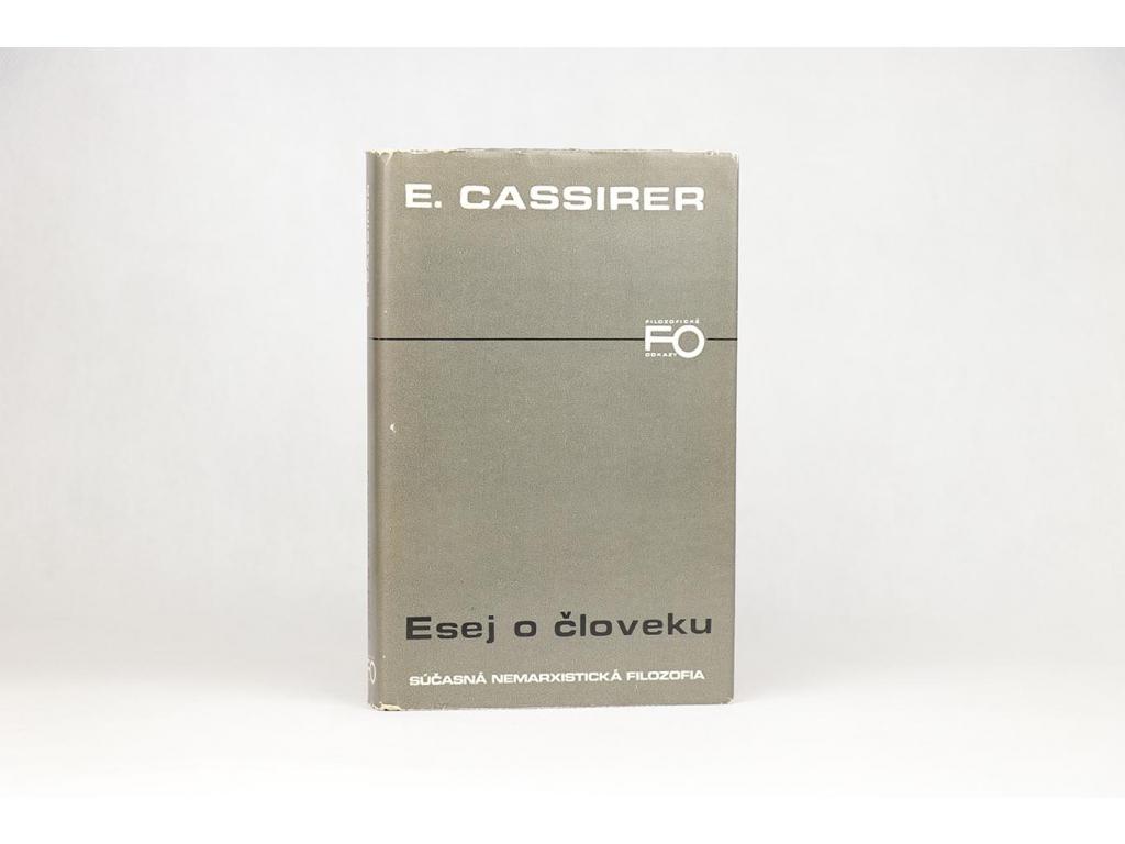 E. Cassirer - Esej o človeku (1977)
