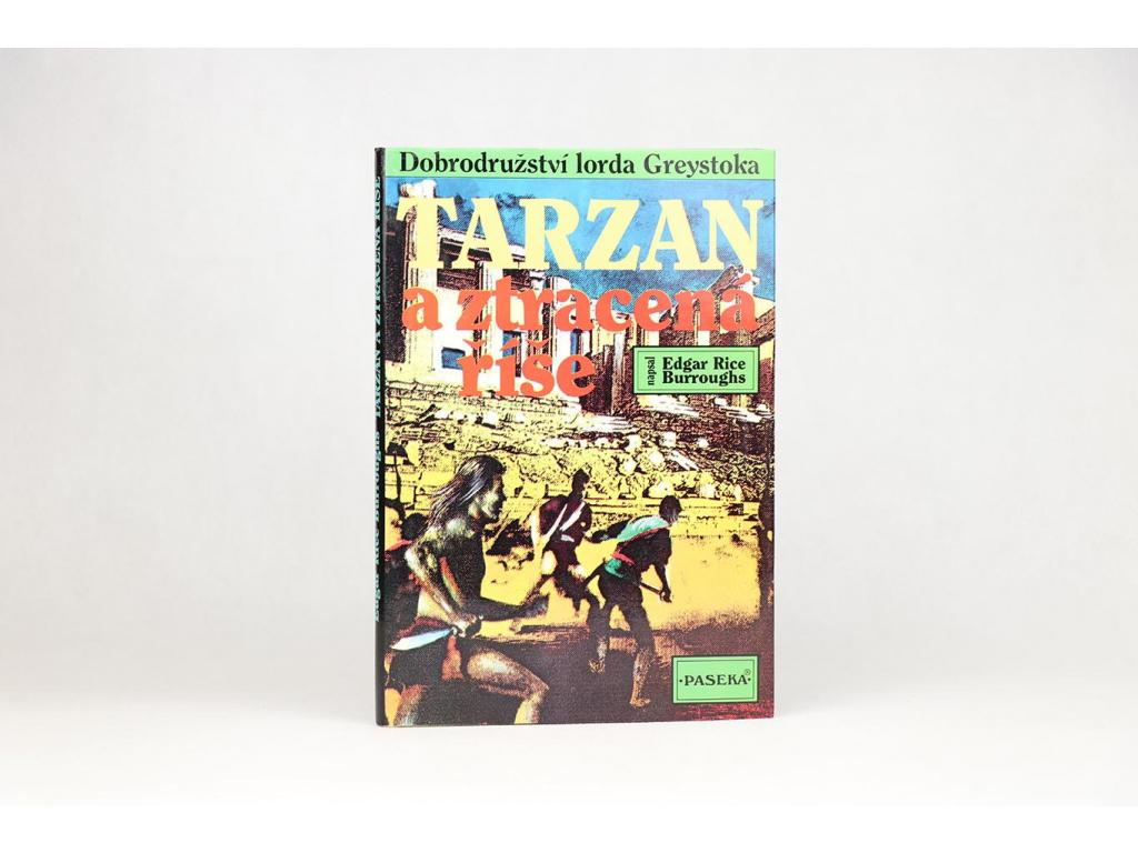 Edgar Rice Burroughs - Tarzan a ztracená říše (1994)