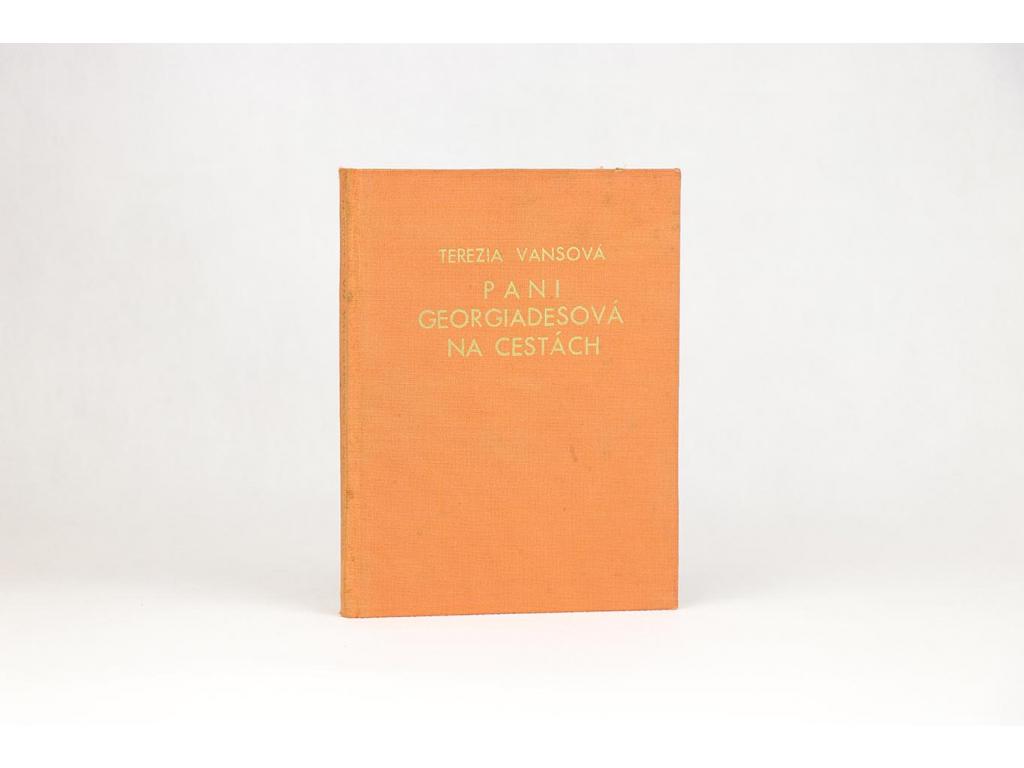 Terézia Vansová - Pani Georgiadesová na cestách (1929)