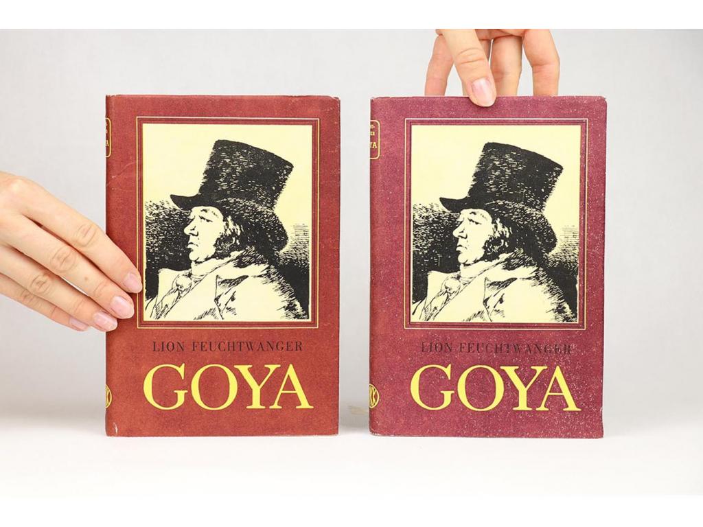 Lion Feuchtwanger - Goya I.-II. (1955)