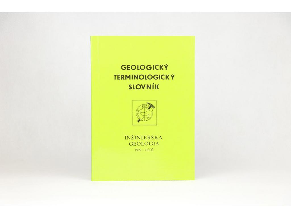 Geologický terminologický slovník: Inžinierska geológia (1992)