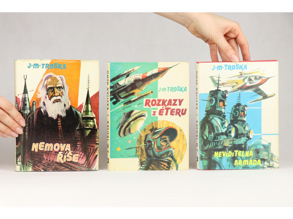 J. M. Troska - Kapitán Nemo 1-3 (1969-1970)