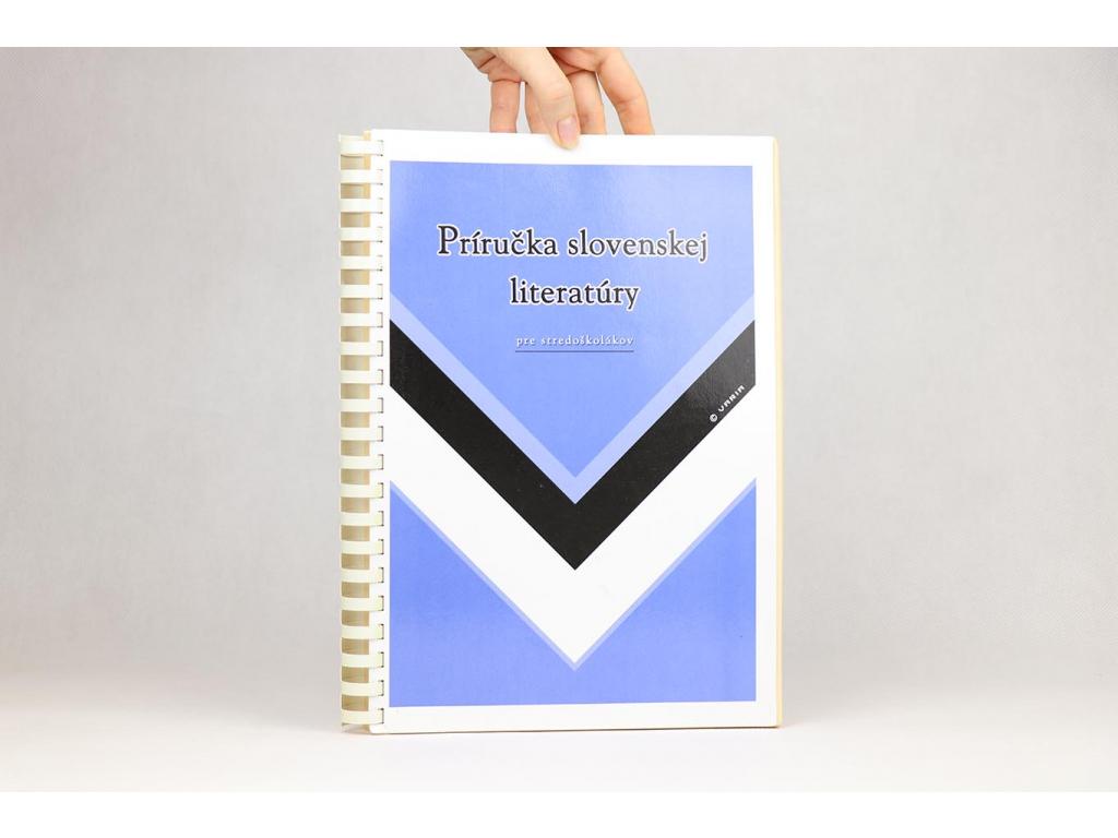 Príručka slovenskej literatúry pre stredoškolákov (2004)