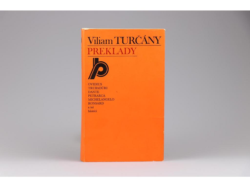 Viliam Turčány: Preklady (1980)