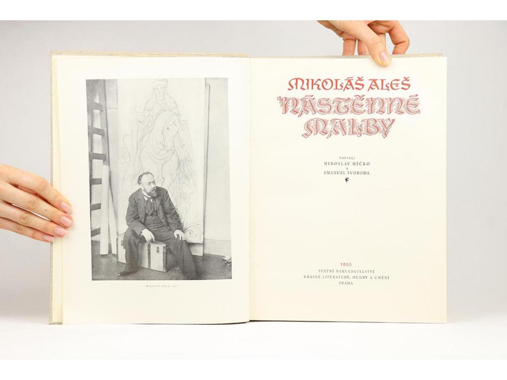 Mikoláš Aleš - Nástěnné malby (1955)