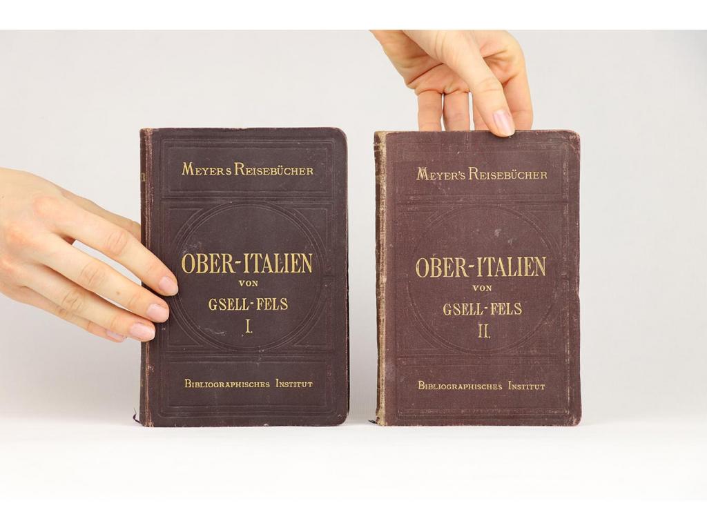Meyer's Reisebücher: Ober-Italien I., II. (1875, 1878)
