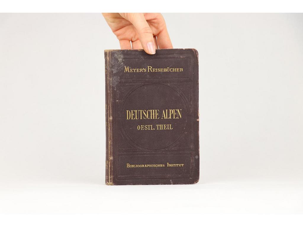 Meyer's Reisebücher: Deutsche Alpen, östlicher theil (1878)